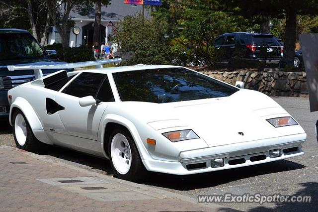 Lamborghini Countach spotted in Carmel, California