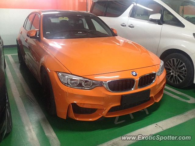 BMW M5 spotted in Shenzhen, China