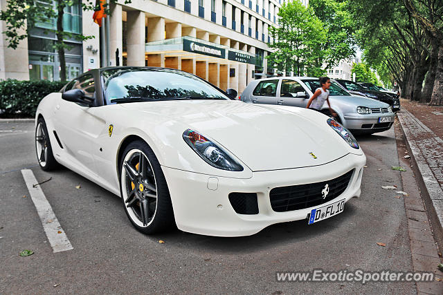 Ferrari 599GTB spotted in Düsseldorf, Germany