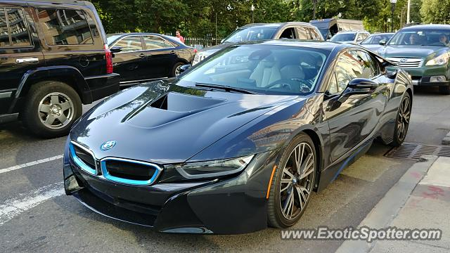 BMW I8 spotted in Boston, Massachusetts