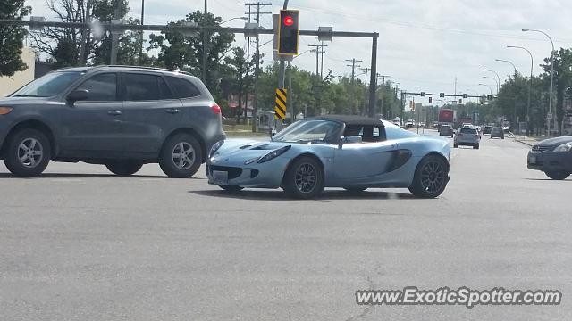 Lotus Elise spotted in Winnipeg, Canada