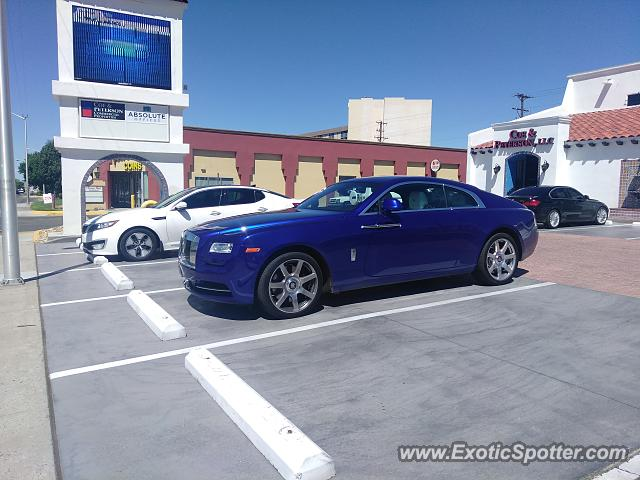 Rolls-Royce Wraith spotted in Albuquerque, United States