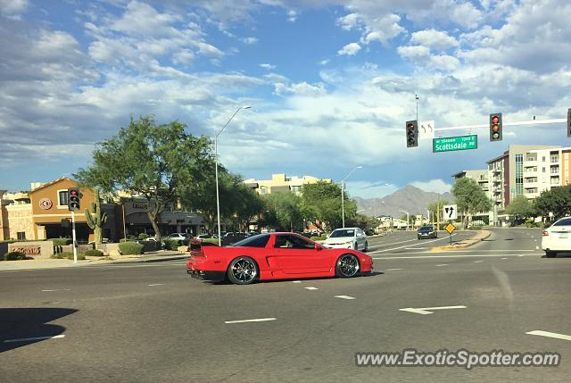 Acura NSX spotted in Tempe, Arizona