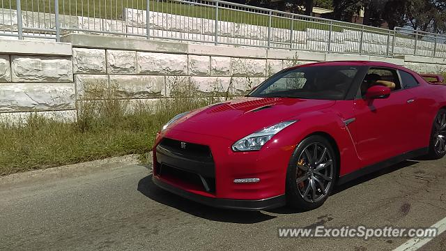 Nissan GT-R spotted in Grand Rapids, Michigan