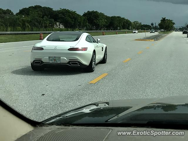 Mercedes AMG GT spotted in Boca Raton, Florida