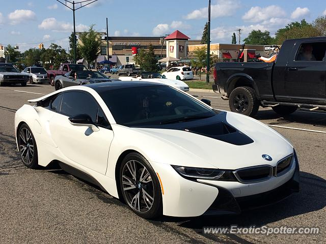 BMW I8 spotted in Birmingham, Michigan