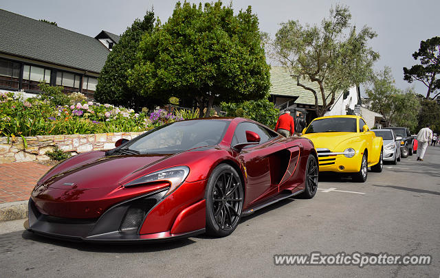 Mclaren 675LT spotted in Carmel, California