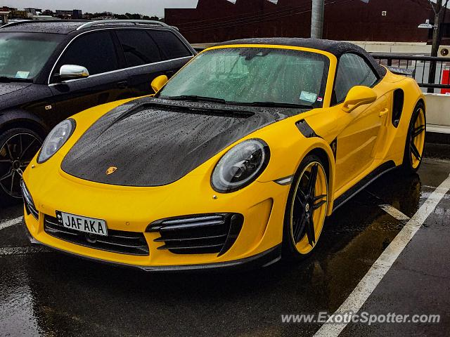 Porsche 911 Turbo spotted in Auckland, New Zealand