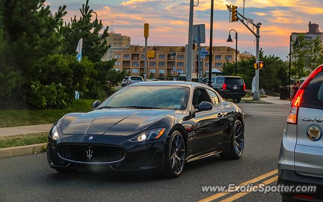 Maserati GranTurismo spotted in Asbury Park, New Jersey
