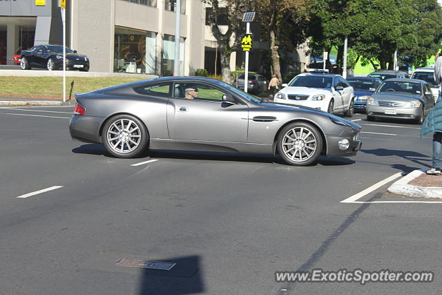 Aston Martin Vanquish spotted in Auckland, New Zealand