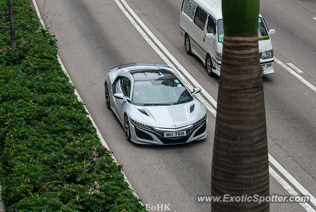 Acura NSX spotted in Hong Kong, China