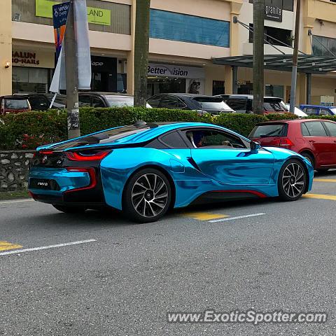 Bmw I8 Spotted In Kuala Lumpur Malaysia On 08 14 2017