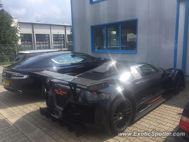 Gumpert Apollo spotted in Nürburgring, Germany