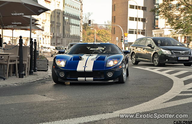 Ford GT spotted in Warsaw, Poland