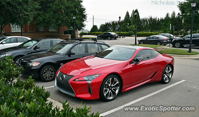 Lexus LC 500 spotted in Raleigh, North Carolina