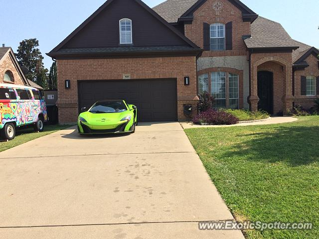 Mclaren 675LT spotted in Grapevine, Texas