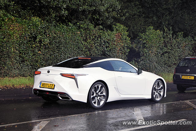 Lexus LC 500 spotted in Reading, United Kingdom