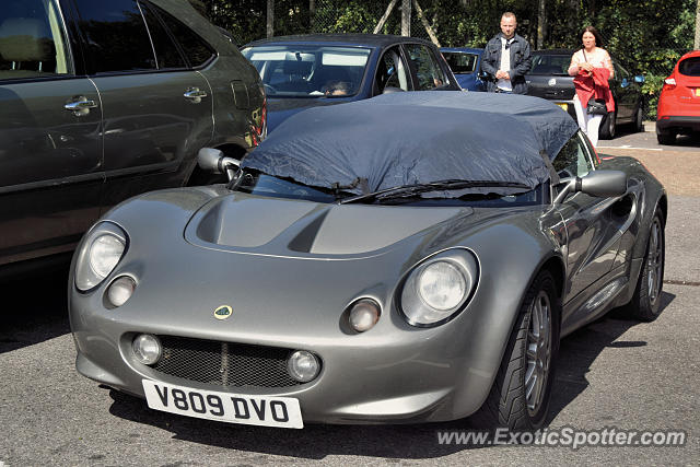 Lotus Elise spotted in Reading, United Kingdom