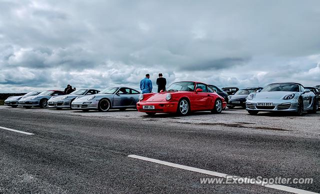 Porsche 911 spotted in North Yorkshire, United Kingdom