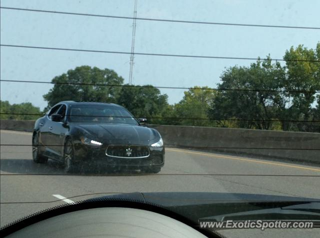 Maserati Ghibli spotted in Golden Valley, Minnesota