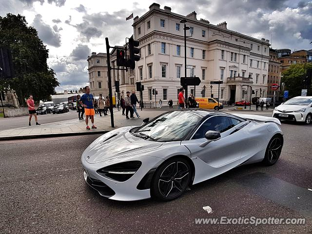 Mclaren 720S spotted in London, United Kingdom
