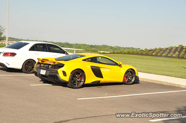 Mclaren 675LT spotted in Miamisburg, Ohio