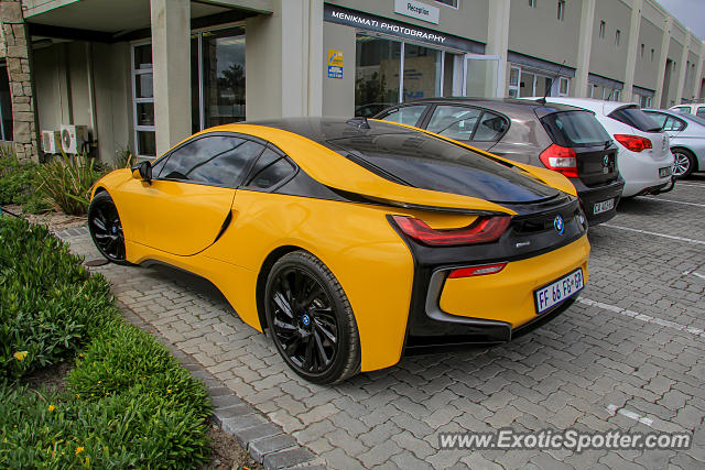 BMW I8 spotted in Cape Town, South Africa