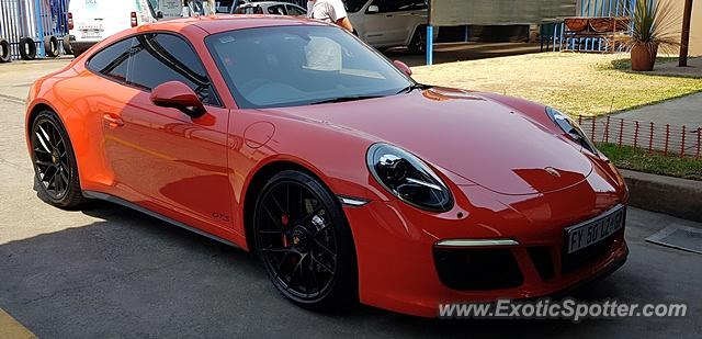 Porsche 911 spotted in Johannesburg, South Africa