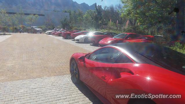 Ferrari 488 GTB spotted in Somerset west, South Africa