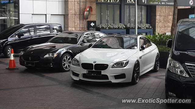 BMW M6 spotted in Jakarta, Indonesia