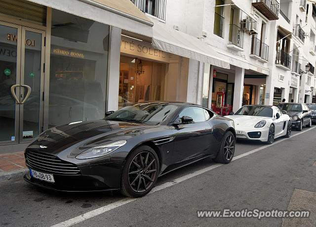 Aston Martin DB11 spotted in Puerto Banus, Spain