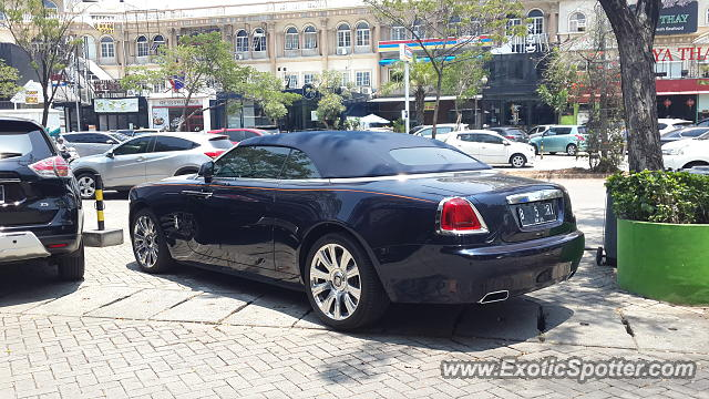 Rolls-Royce Dawn spotted in Jakarta, Indonesia