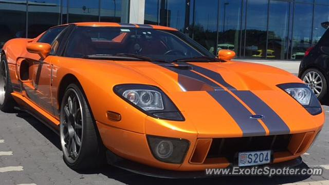 Ford Gt Spotted In Nurburgring Germany