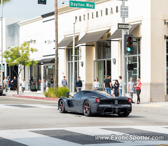 Ferrari LaFerrari spotted in Beverly Hills, California