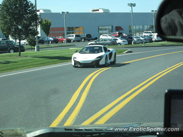 Mclaren 650S spotted in Mechanicsburg, Pennsylvania
