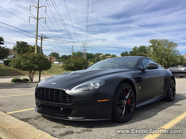 Aston Martin Vantage spotted in Raleigh, North Carolina