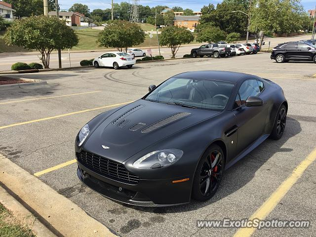 Aston Martin Vantage spotted in Raleigh, United States