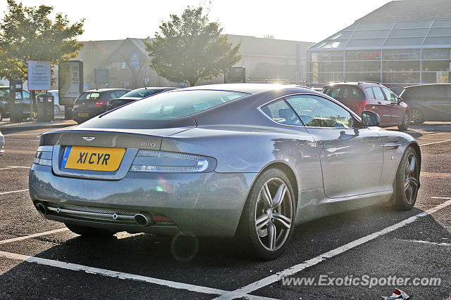 Aston Martin DB9 spotted in Peterborough, United Kingdom