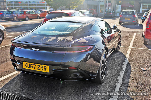 Aston Martin DB11 spotted in Peterborough, United Kingdom