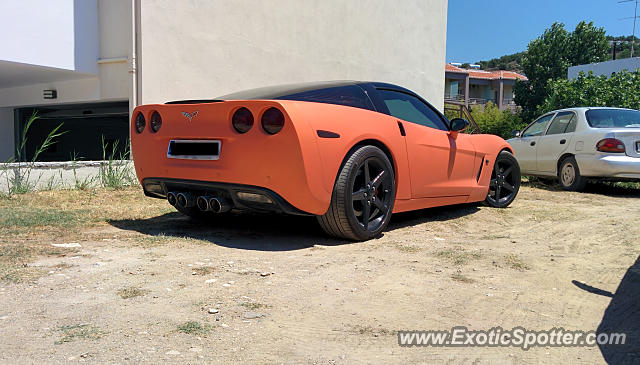 Chevrolet Corvette Z06 spotted in Finikounda, Greece