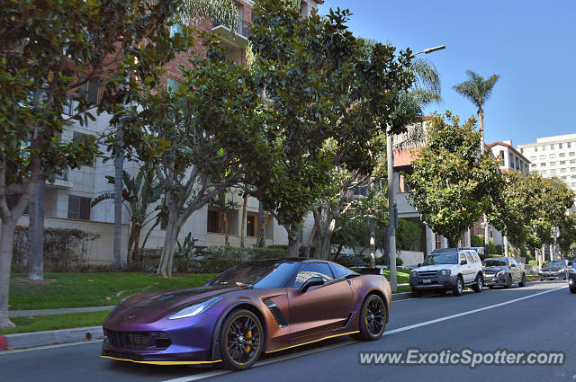 Chevrolet Corvette Z06 spotted in Westwood, California