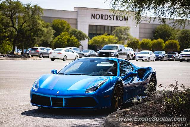 Ferrari 488 GTB spotted in San Antonio, Texas