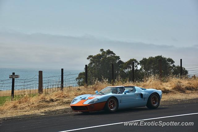 Ford GT spotted in Big sur, California