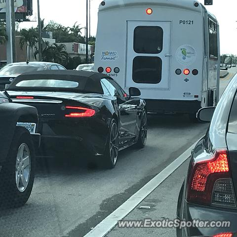Aston Martin Vanquish spotted in Coconut Creek, Florida