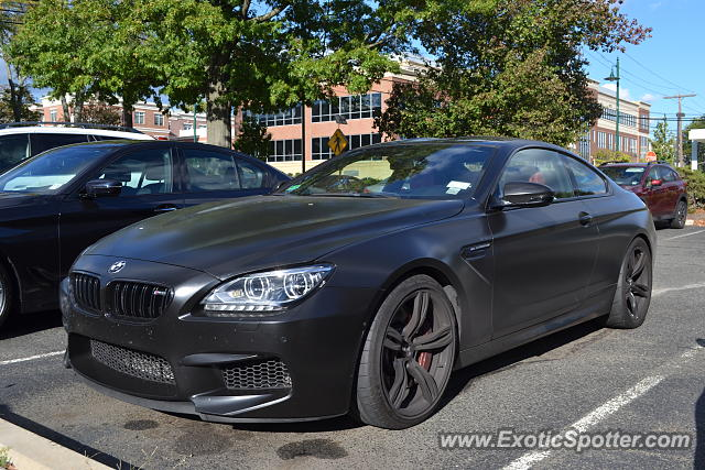 BMW M6 spotted in Summit, New Jersey