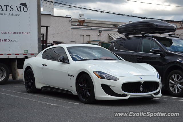 Maserati GranTurismo spotted in Summit, New Jersey