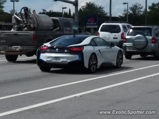 BMW I8 spotted in Riverview, Florida