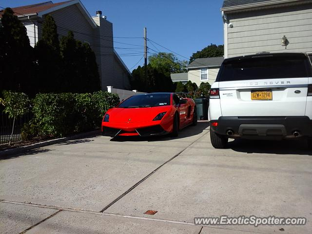Lamborghini Gallardo spotted in Woodmere, New York