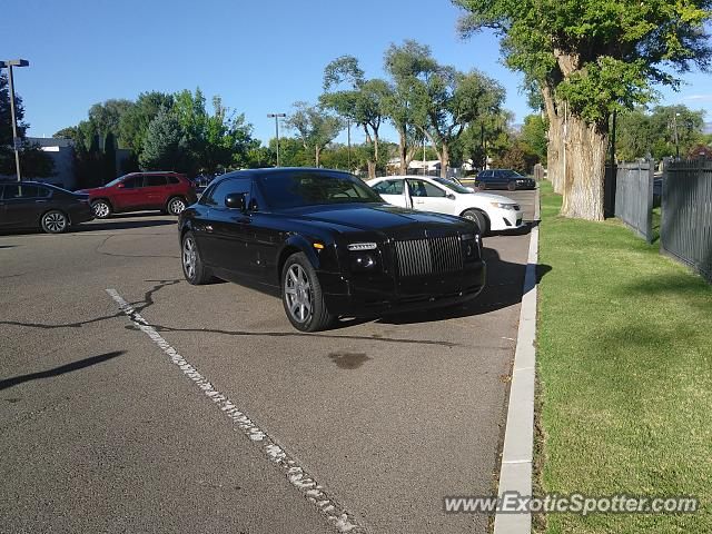 Rolls-Royce Phantom spotted in Albuquerque, New Mexico