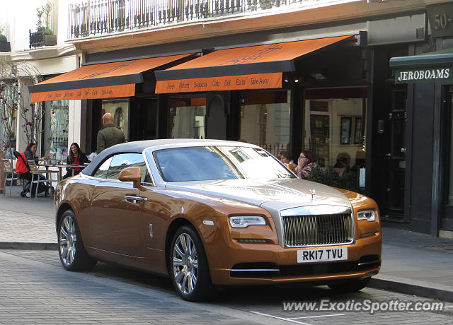 Rolls-Royce Dawn spotted in London, United Kingdom